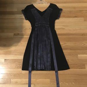 ❗️Sold❗️Beautiful black/purple dress BCBG Maxazria